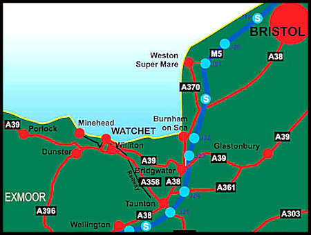 Watchet-Map